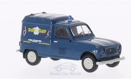 Renault 4 1/87 Brekina R Fourgonnette EDF / GDF miniature