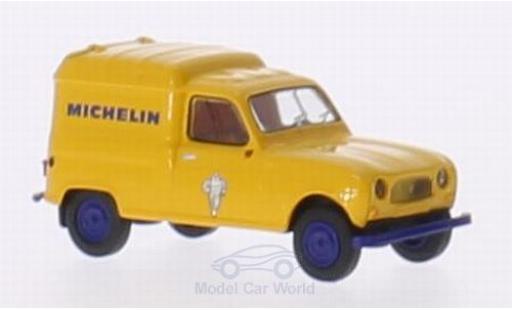 Renault 4 1/87 Brekina R Fourgonnette Michelin miniature