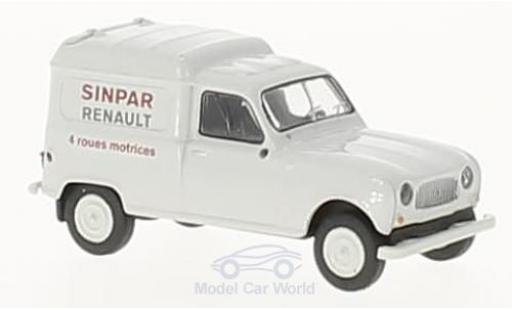 Renault 4 L 1/87 Brekina R Fourgonnette Sinpar- miniature
