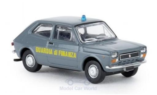 Fiat 127 1/87 Brekina Starline Guardia di Finanza 1971 diecast
