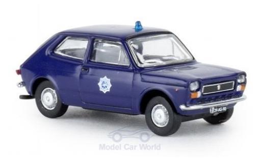 Fiat 127 1/87 Brekina Starline Politie (NL) 1971 diecast