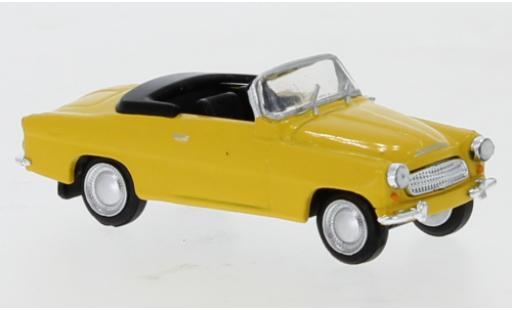 Skoda Felicia 1/87 Brekina yellow 1959 diecast model cars