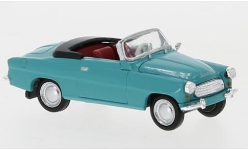 Skoda Felicia 1/87 Brekina Starline bleue 1959 miniature