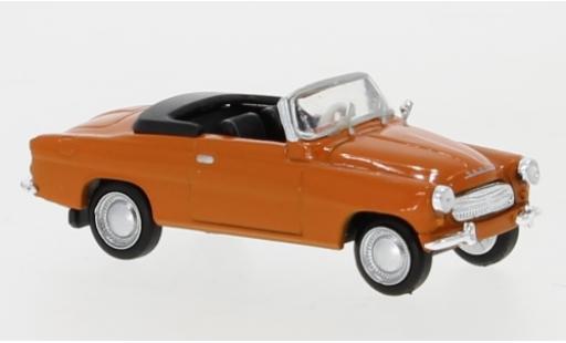 Skoda Felicia 1/87 Brekina orange 1959 diecast model cars
