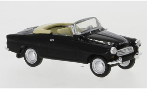 Skoda Felicia 1/87 Brekina black 1959 Verdeck Ivoire diecast model cars