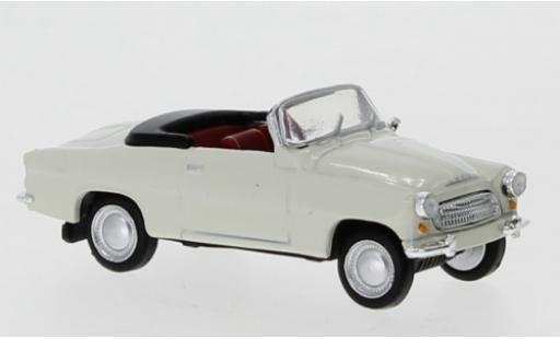 Skoda Felicia 1/87 Brekina Starline blanche 1959 miniature