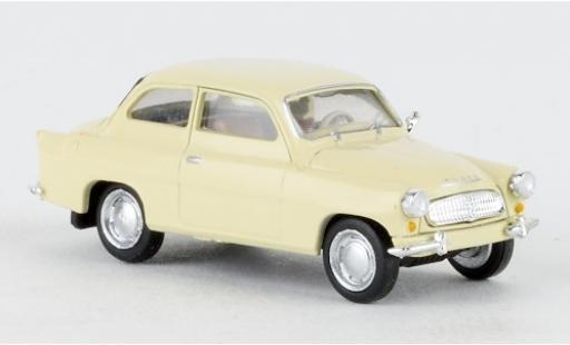 Skoda Octavia 1/87 Brekina beige 1960 diecast model cars