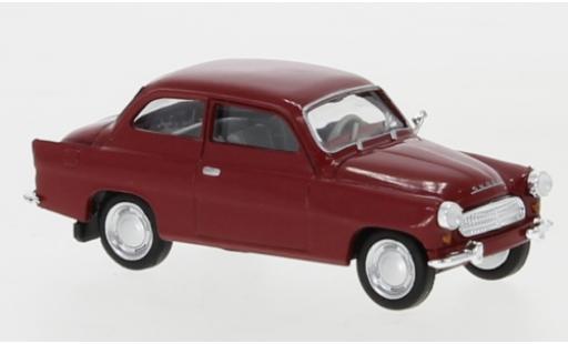 Skoda Octavia 1/87 Brekina red 1960 diecast model cars