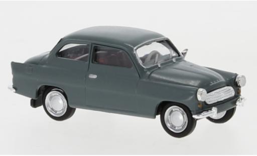 Skoda Octavia 1/87 Brekina grey 1960 diecast model cars