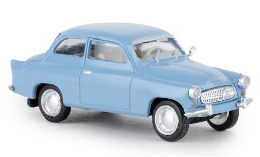 Skoda Octavia 1/87 Brekina blue 1960 diecast model cars
