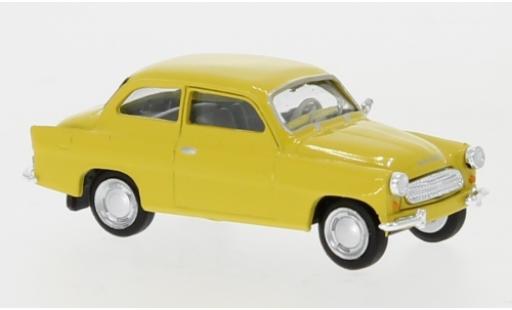 Skoda Octavia 1/87 Brekina yellow 1960 diecast model cars