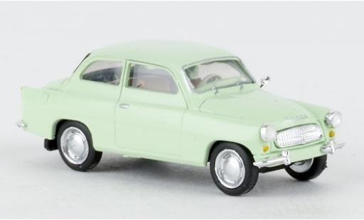 Skoda Octavia 1/87 Brekina green 1960 diecast model cars