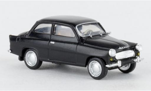 Skoda Octavia 1/87 Brekina black 1960 diecast model cars