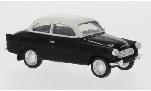 Skoda Octavia 1/87 Brekina black/white 1960 diecast model cars