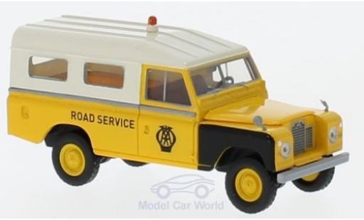 Land Rover 109 1/18 Brekina Starmada AA Road Service miniature