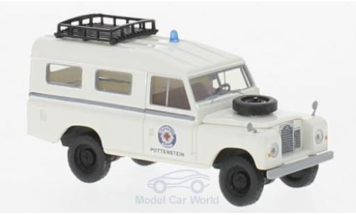 Land Rover 109 1/18 Brekina Starmada Bergwacht miniature