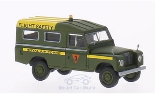 Land Rover 109 1/18 Brekina Starmada County Station Wagon RAF Flight Service (GB) oliv miniature