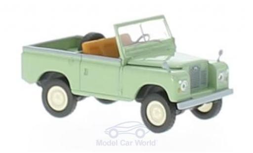 Land Rover 88 1/18 Brekina Starmada verte miniature