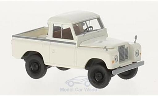 Land Rover 88 1/18 Brekina Hardtop white diecast model cars