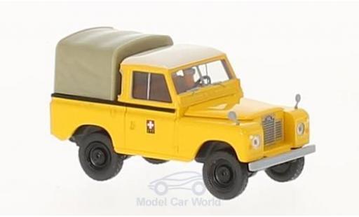 Land Rover 88 1/18 Brekina Starmada PTT miniature