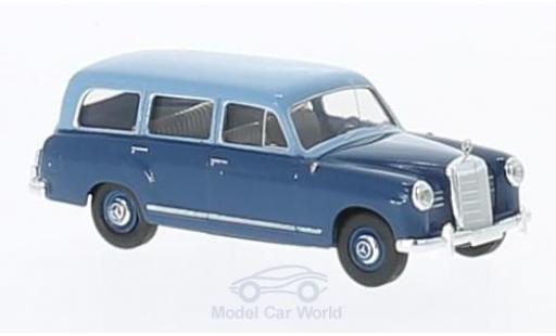 Mercedes 180 1/87 Brekina Kombi bleue/bleue miniature