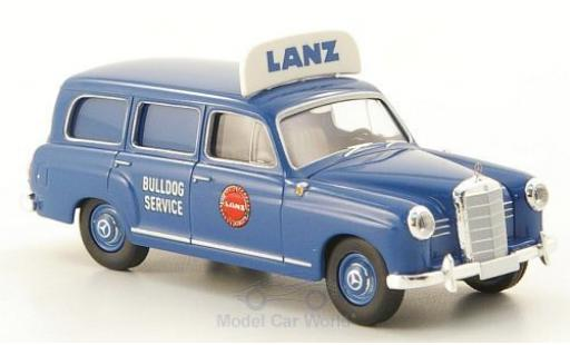 Mercedes 180 1/87 Brekina Starmada Kombi Lanz Billdog-Service miniature