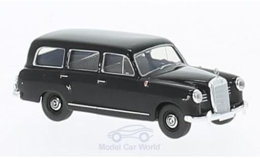 Mercedes 180 1/87 Brekina Kombi noire miniature