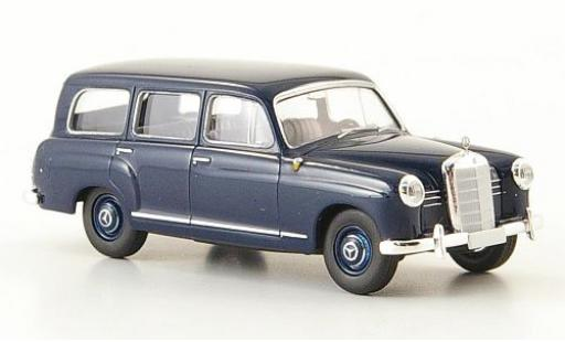 Mercedes 180 1/87 Brekina Starmada Kombi (W 120) blu 1956 ohne Vitrine miniatura