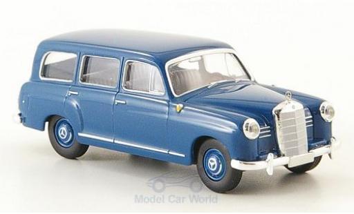 Mercedes 180 1/87 Brekina Kombi (W120) bleue 1955 miniature