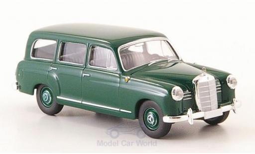 Mercedes 180 1/87 Brekina Kombi (W120) verte 1955 miniature