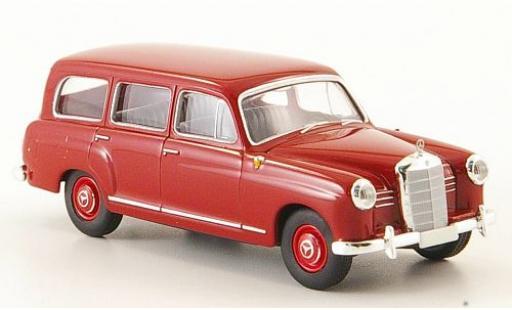 Mercedes 180 1/87 Brekina Starmada Kombi (W120) rosso 1955 miniatura