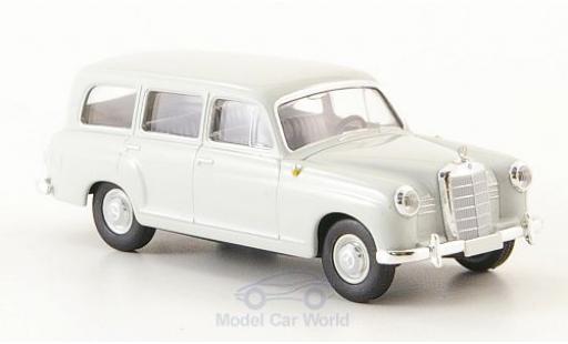 Mercedes 180 1/87 Brekina Kombi (W120) grise 1955 miniature