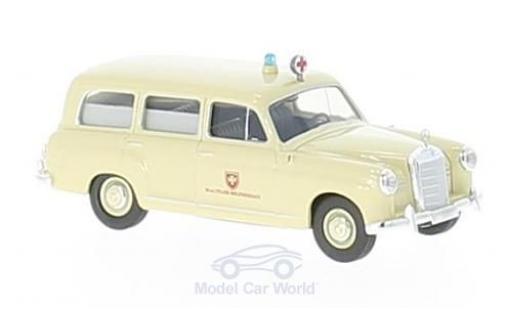 Mercedes 180 1/87 Brekina Malteser Krankenwagen miniature