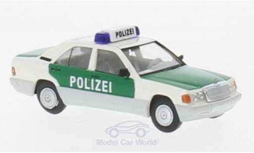 Mercedes 190 E 1/87 Brekina Starmada E Polizei Hamburg miniature