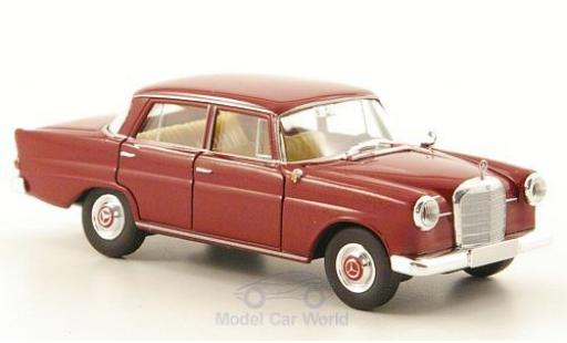 Mercedes 190 E 1/87 Brekina Starmada c (W110) dunkelrouge miniature