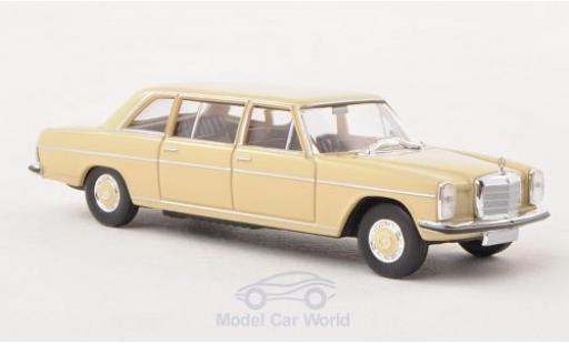 Mercedes 220 1/87 Brekina Starmada D lang (W115) beige Strich-Acht miniature