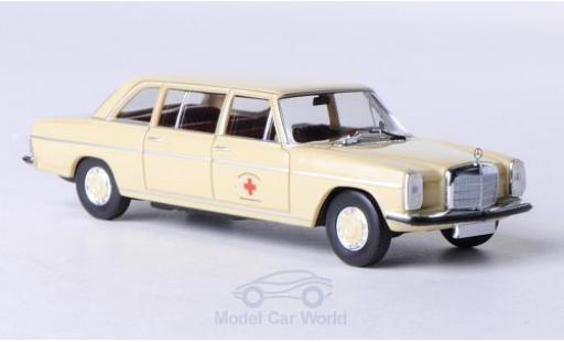 Mercedes 220 1/87 Brekina Lang DRK-Blutspendezentrale modellino in miniatura