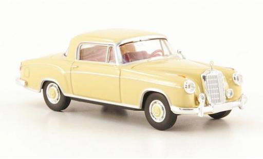 Mercedes 220 1/87 Brekina S Coupe (W180 II) beige modellautos