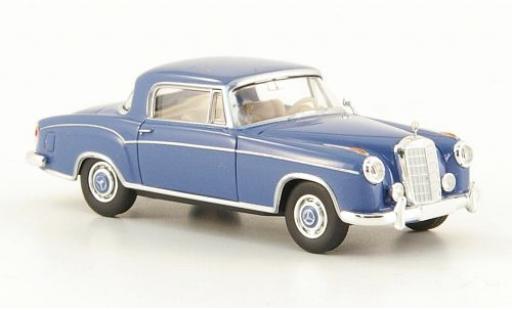 Mercedes 220 1/87 Brekina Starmada S Coupe (W180 II) blu miniatura
