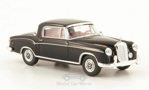 Mercedes 220 1/87 Brekina S Coupe (W180 II) black diecast model cars