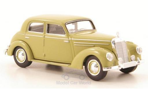 Mercedes 220 1/87 Brekina Starmada (W187) dunkelbeige miniature