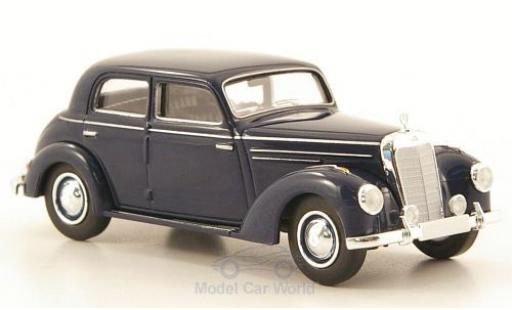 Mercedes 220 1/87 Brekina (W187) blue diecast model cars