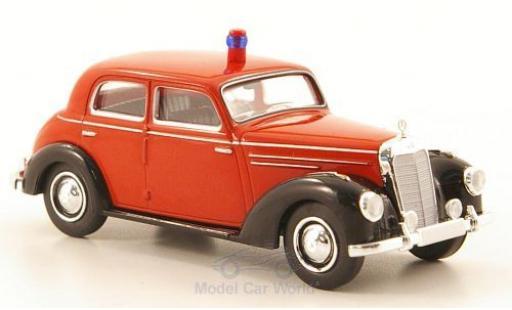 Mercedes 220 1/87 Brekina (W187) Feuerwehr coche miniatura