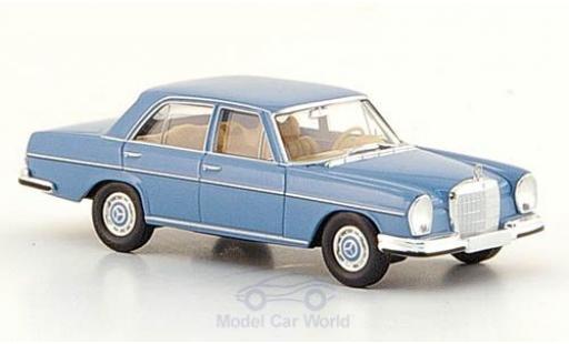 Mercedes 280 SE 1/87 Brekina (W108) bleue 1965 miniature