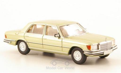 Mercedes 450 SEL 1/87 Brekina (W116) metallise verte miniature