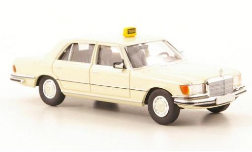 Mercedes 450 1/87 Brekina Starmada SEL (W116) Taxi (D) miniatura