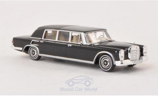 Mercedes 600 1/87 Brekina Landaulet black Verdeck geschlossen diecast model cars