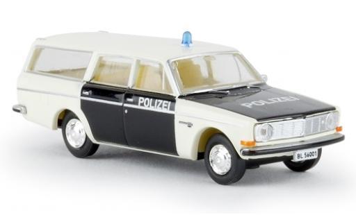 Volvo 145 1/87 Brekina Kombi Polizei Baselland camionnette sans Vitrine miniature