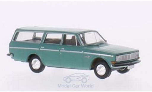 Volvo 145 1/87 Brekina Kombi turquoise miniature