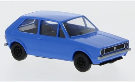 Volkswagen Golf 1/87 Brekina I blue 1974 diecast model cars
